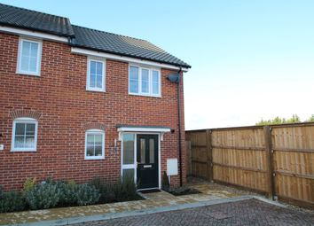 Thumbnail 2 bed end terrace house for sale in Brooke Way, Stowmarket