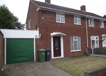 Thumbnail 2 bed semi-detached house to rent in Brereton Road, Willenhall, Wolverhampton