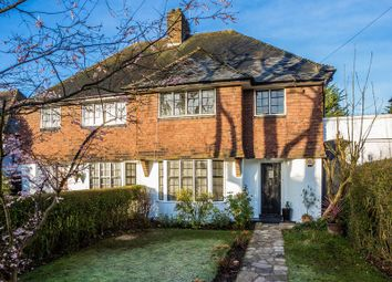 Thumbnail 3 bed semi-detached house for sale in Cornwood Close, Hampstead Garden Suburb, London