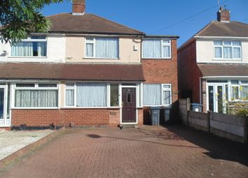 Thumbnail 3 bed semi-detached house for sale in Southgate Road, Great Barr, Birmingham