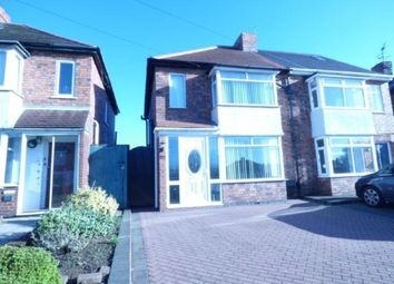 Thumbnail 3 bed semi-detached house for sale in Hockley Road, Wilnecote, Tamworth, Stafordshire