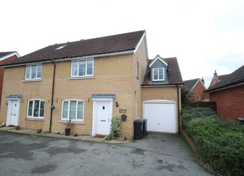 Thumbnail 4 bed semi-detached house for sale in Goldfinch Close, Stowmarket