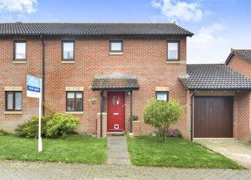 Thumbnail 3 bed semi-detached house for sale in Northcroft, Shenley Lodge, Milton Keynes, Buckinghamshire