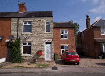Thumbnail 3 bed end terrace house for sale in Park Road, Blaby, Leicester