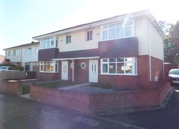 Thumbnail 3 bed semi-detached house for sale in Markham Avenue, Bournemouth