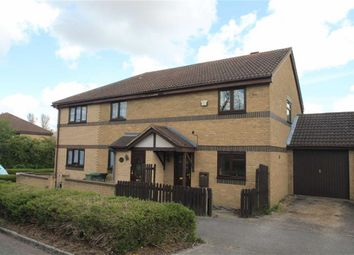 Thumbnail 3 bedroom semi-detached house to rent in Fortescue Drive, Shenley Church End, Milton Keynes