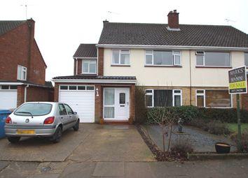 Thumbnail 4 bedroom semi-detached house for sale in Arundel Way, Ipswich