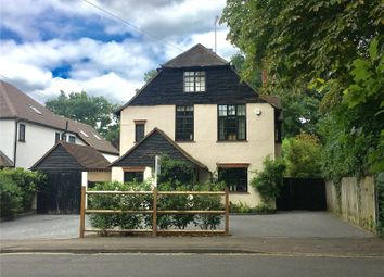 Thumbnail 4 bed detached house for sale in Pyrford Road, West Byfleet, Surrey
