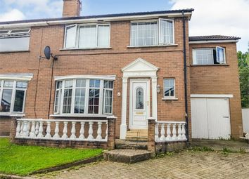 Thumbnail 4 bedroom semi-detached house for sale in Lake Glen Drive, Belfast, County Antrim