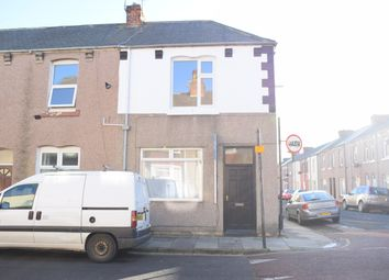 Thumbnail 2 bed end terrace house for sale in Cornwall Street, Hartlepool