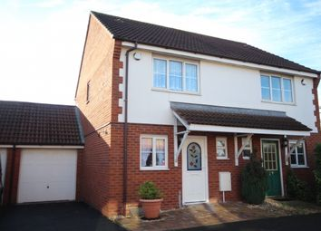 Thumbnail 2 bed semi-detached house for sale in Clarks Road, Bridgwater