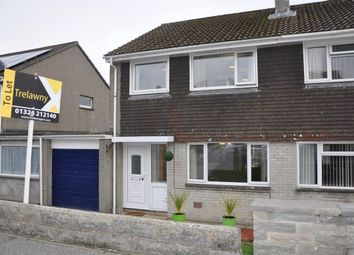 Thumbnail 3 bed property to rent in Penarrow Close, Falmouth
