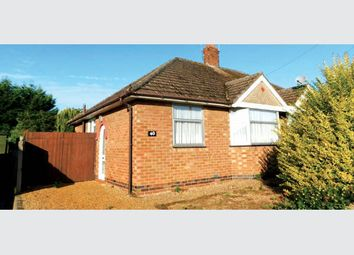 Thumbnail 2 bed semi-detached bungalow for sale in 40 Muscott Lane, Nr Northampton, Northamptonshire