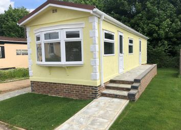 Thumbnail 1 bed mobile/park home for sale in Subrosa Park, Subrosa Drive, Merstham, Redhill