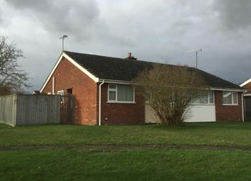 Thumbnail 2 bed bungalow to rent in Bushman Gardens, Bramford, Ipswich