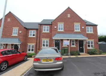 Thumbnail 3 bed town house for sale in St. Marys Way, Elmesthorpe, Leicester