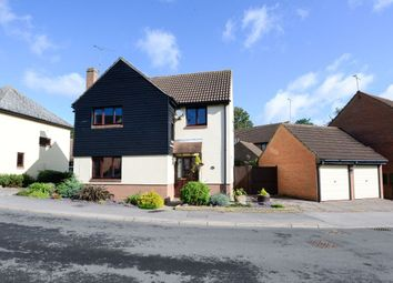 Thumbnail 4 bed detached house for sale in Normansfield, Dunmow