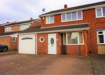 Thumbnail 3 bedroom semi-detached house for sale in St. Pauls Crescent, Walsall