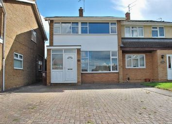 Thumbnail 3 bed semi-detached house for sale in Ryeland Road, Duston, Northampton