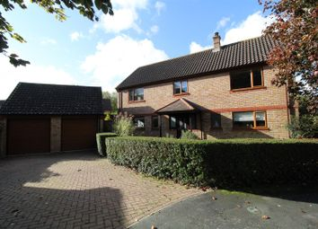 Thumbnail 5 bedroom detached house for sale in Barker Close, Ipswich