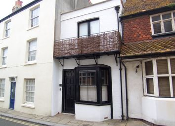 Thumbnail 1 bed terraced house to rent in All Saints Street, Hastings Old Town