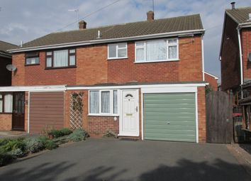 Thumbnail 3 bed semi-detached house to rent in Croft Road, Atherstone