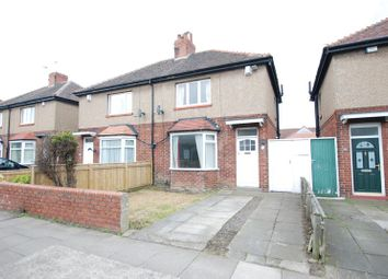 Thumbnail 2 bed semi-detached house to rent in Regent Road North, Gosforth, Newcastle Upon Tyne