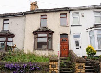 Thumbnail 2 bed terraced house for sale in Bridgend Road, Llanharan, Pontyclun