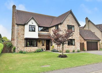Thumbnail 5 bed detached house for sale in Daintrees Road, Fen Drayton, Cambridge