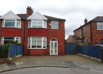 Thumbnail 3 bed semi-detached house for sale in Dean Avenue, Old Trafford, Manchester