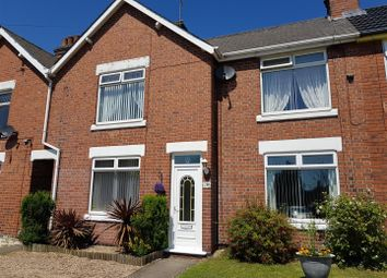Thumbnail 3 bed terraced house for sale in Forest Road, New Ollerton, Newark