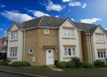 Thumbnail 3 bed detached house for sale in Neals Crescent, Grantham