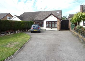 Thumbnail 4 bed semi-detached bungalow for sale in Leighton Crescent, Elmesthorpe, Leicester