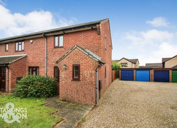 Thumbnail 2 bed end terrace house for sale in St. Marys Road, Poringland, Norwich