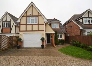 Thumbnail 4 bed detached house for sale in Mountnessing Road, Billericay