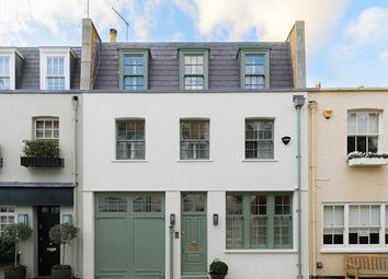 Thumbnail 3 bed mews house for sale in Groom Place, London