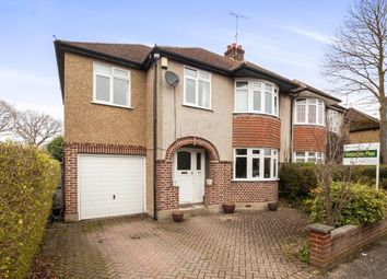 Thumbnail 4 bedroom semi-detached house for sale in Ottershaw, Chertsey, Surrey