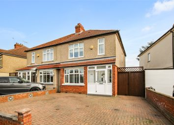 Thumbnail 3 bed semi-detached house for sale in Olyffe Avenue, Welling, Kent