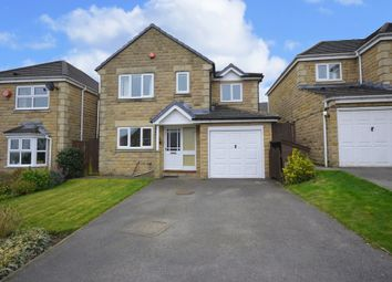 Thumbnail 4 bed detached house for sale in Helston Grove, Honley, Holmfirth