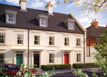 "Thumbnail 3 bed terraced house for sale in ""The Searush"" at Haye Road, Sherford, Plymouth"