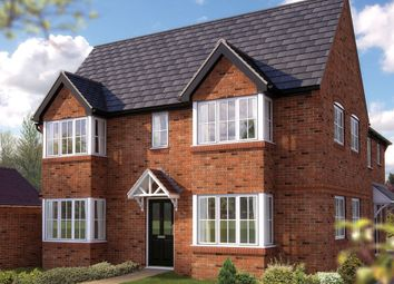 "Thumbnail 3 bed semi-detached house for sale in ""The Berisford"" at Ash Road, Cuddington, Northwich"
