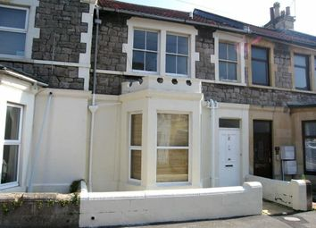 Thumbnail 1 bed flat to rent in Glebe Road, Weston-Super-Mare
