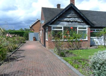 Thumbnail 2 bed bungalow to rent in Manor Close, Congleton