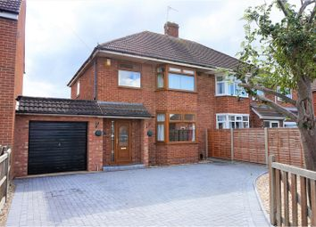 Thumbnail 3 bed semi-detached house for sale in Richmond Gardens, Gloucester