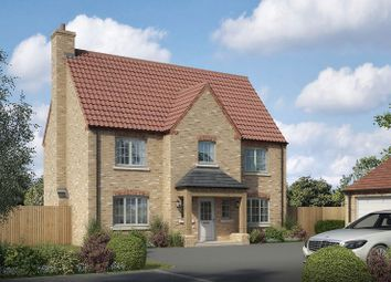 Thumbnail 4 bed detached house for sale in The Harmston, Lodge Lane, Nettleham