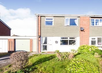 Thumbnail 3 bed semi-detached house for sale in The Hawthorns, Riccall, York, North Yorkshire
