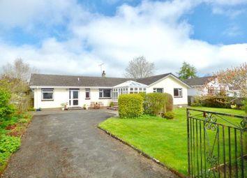 Thumbnail 4 bed detached bungalow for sale in Vendace Drive, Lochmaben, Lockerbie