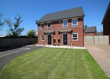 Thumbnail 2 bed semi-detached house for sale in Texan Close, Warton, Preston