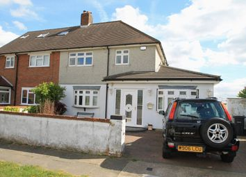 Thumbnail 4 bed semi-detached house for sale in Love Lane, Aveley, South Ockendon