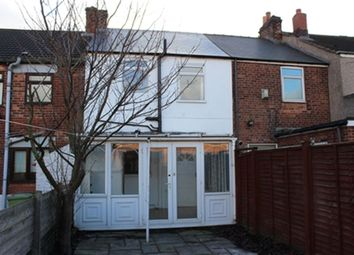 Thumbnail 2 bed property to rent in Shaw Street, Chesterfield, Derbyshire